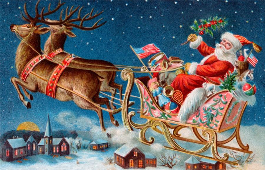 Klicka på bilden för en större version.  Namn:santa_sleigh[1].jpg Visningar:432 Storlek:227,0 KB Id:64850